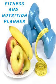 Fitness And Nutrition Journal Fitness And Nutrition Planner Fun Daily Fitness Planner
