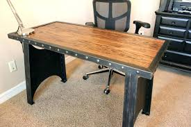 industrial style office furniture. Industrial Style Home Office Small Desk . Furniture P