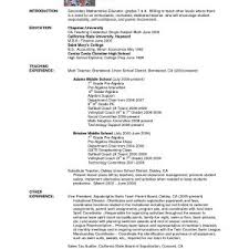 New School Teacher Resume Format India New Bunch Ideas Resume Format ...