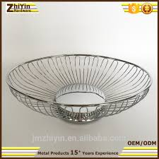 Decorative Wire Tray Collapsible Metal Wire Basket Collapsible Metal Wire Basket 83
