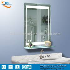 2014 The Most Hotest Wall Mounted Led Lighted Bathroom Mirror With