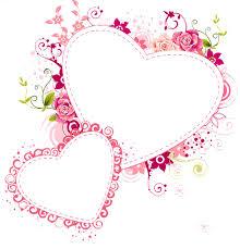 heart frame transpa pink hearts transpa frame