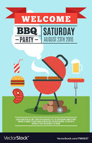 Bbq Poster Bbq Poster Royalty Free Vector Image Vectorstock