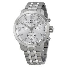 tissot prc 200 chronograph silver dial stainless steel men s watch tissot prc 200 chronograph silver dial stainless steel men s watch t0554171103700