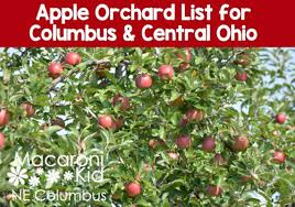 Central Ohio Apple Orchard Listing Links Details And