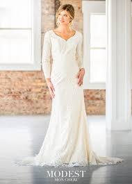 tr21901 tr21902 by mon cheri modest wedding dresses