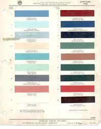 Paint Chips 1956 Chrysler