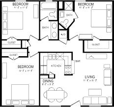 popular 3 bedroom apartment floorplan garage plan three for floor melbourne toronto sydney