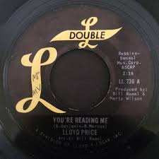 Lloyd Price - You're <b>Reading</b> Me / Go On, Little <b>Girl</b> (<b>Vinyl</b>) | Discogs