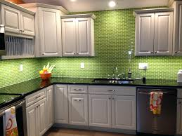 green kitchen tile backsplash lime green glass subway tile kitchen kitchen  ideas lime green glass subway