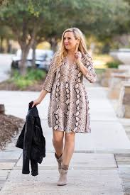 it s the perfect jacket to take you from winter to spring take a k at this cute dress and the leather jacket that you need for spring