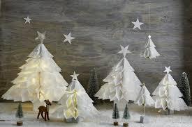 Weihnachtsdeko Aus Papiertüten Engel Sterne Tannenbäume