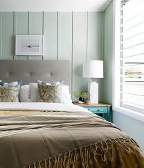 Ici Dulux Silver Cloud Paint Bedroom Beach Style With Light Green Walls  White Shade