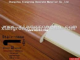 wood stair nosing with pvc install truck china engineered flooring for