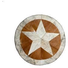 round cowhide rugs natural star stitch round cowhide rug brown natural cowhide rugs nz round cowhide rugs