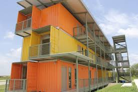 Judging from the images, not much will be done to alter the original shape  of the containers when turning them into apartment units.
