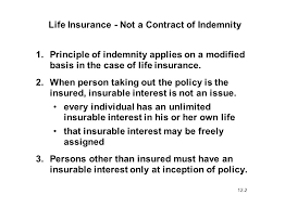 The standard insurance services office or iso cgl policy provides coverage of the insureds indemnity obligation. Unique Characteristics Of Life Insurance Ppt Video Online Download