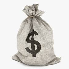 Image result for pic of a bags of money