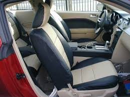ford mustang leather seat covers image