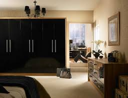 fitted bedrooms liverpool. Duleek Black Gloss With Light Tiepolo Fitted Bedrooms Liverpool Y