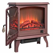 furniture electric fireplace logs with heater luxury akdy fp0082 20 brown freestanding portable electric fireplace