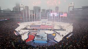 Look Busch Stadium Plays Host To Nhl Winter Classic Between