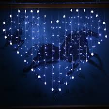 Small Picture Aliexpresscom Buy 124 led 2x16M Heart led curtian light