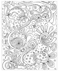 Stress Relief Coloring Pages Free Printable