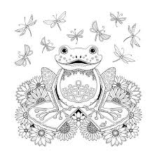 Small Picture Frog Coloring Pages Coloring Coloring Pages
