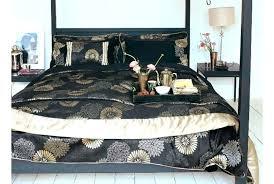 gold duvet cover black and gold duvet cover stylish bedeck zen bedding set in black gold