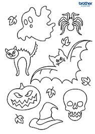 Gratis Halloween Kleurplaat 5 Afdrukken Creative Center