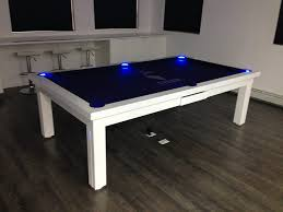 Pool table that is a dining table 7ft Conversion Dining Pool Table Youtube Convertible Pool Tables Dining Room Pool Tables By Generation Chic