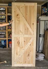 How To how to build door pics : 20 DIY Barn Door Tutorials With How To Build Doors And Styles On ...