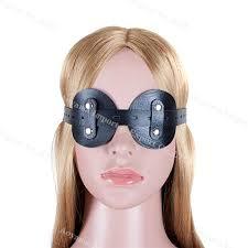 Eye protection against urine in bondage