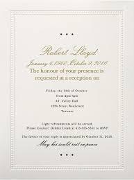 Formal Dinner Invitation Sample New 48 Best Funeral Reception Invitations Love Lives On