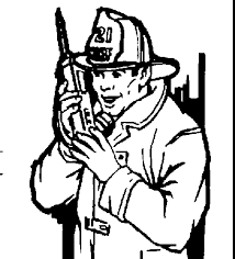 Firefighter Clipart Black And White 52 Cliparts
