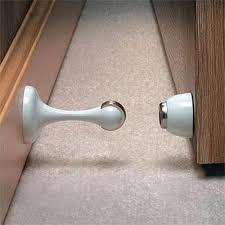 magnetic door stop holder 88 x 44mm white