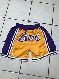 James Team League Mens Ebay Summer Size Name Lakers Basketball New L Shorts Lebron