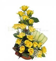 yellow flowers are one one of the best flowers to be chosen for flower delivery bangalore