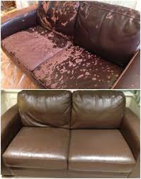 how to paint leather furniture. Exellent Furniture While Looking For A New Sofa Amanda Realised That Although The Leather  Was Damaged Frames And Cushions Were In Good Condition So Began To Look  And How To Paint Leather Furniture