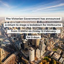 Victoria to go to stage 4 lockdown for five days; Onuirogry7lo1m