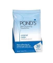 ponds makeup remover wipes