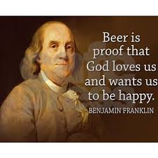 Ben Franklin Beer Quote Interesting Ben Franklin Quote On Beer Puzzle By AdminCP48