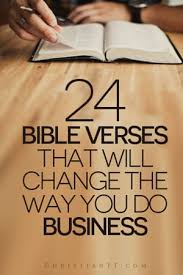 How To Quote The Bible Delectable 48 Scriptures Bible Verses About Business