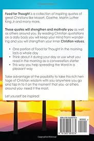 Christian Food For Thought Quotes Best of Amazon Food For Thought 24 Christian Quotes To Start Your Day