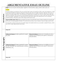Transitional Words For Argumentative Essay Organizing Argument Outline