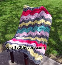 Double Crochet Chevron Blanket Pattern Magnificent Decorating