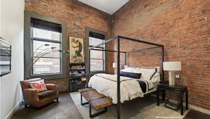 the brick condo furniture. Walker Street Bedroom Penthouse Loft Duplex Condo Tribeca With Brick Furniture The O