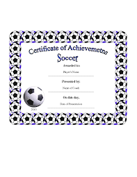 soccer awards templates free printable soccer certificate templates image collections