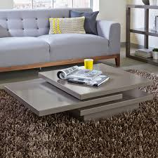 stone coffee table. Rotate Square Coffee Table Stone